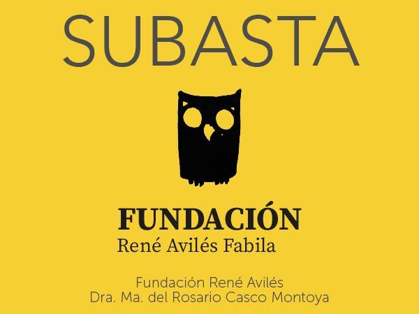 Subasta Fundación René Avilés - Dra. Ma. del Rosario Casco Montoya