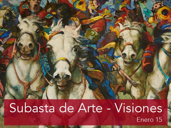 Subasta de Arte - Visiones