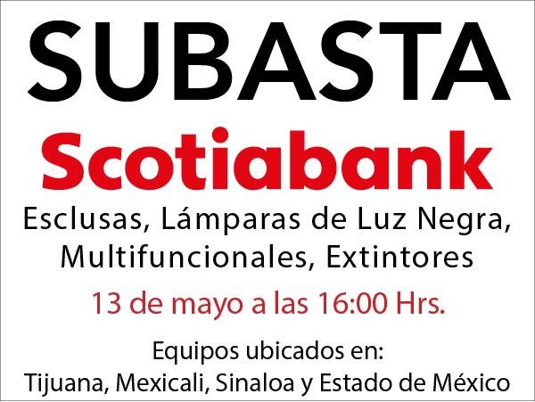 Subasta Scotiabank