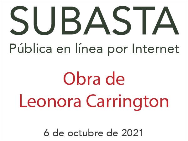 Subasta de Arte - Leonora Carrington