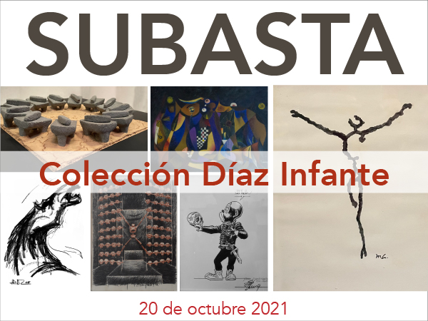 Subasta de Arte - Colección Privada - Díaz Infante