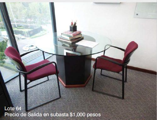 Catálogo Subasta Corporativo en Santa Fe, Ciudad de México