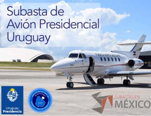 Subasta de Avión Presidencial