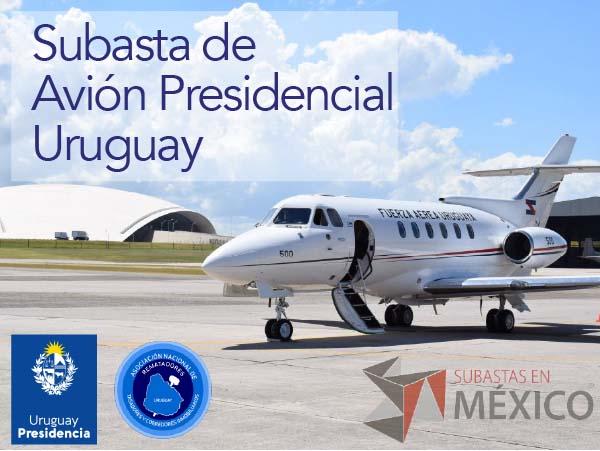 Subasta de Avión Presidencial de Uruguay