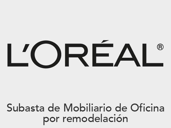 Subasta L'Oréal - Mobiliario y Equipo de Oficina
